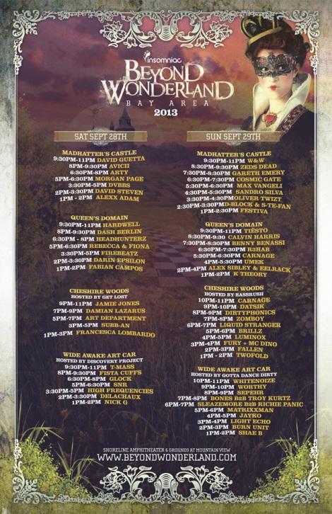 beyond-bay-2013-schedule