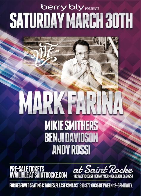 Mark Farina Saint Rocke 2